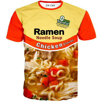 Chicken Ramen Noodle Soup T-Shirt