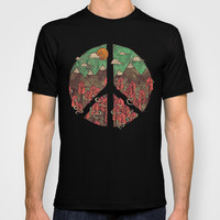 Peaceful Landscape T-shirt by Hector Mansilla