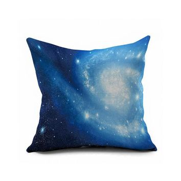 ac DCK83Q Home Decor Sofa Galaxy S Cotton Linen Cushion Cover [6451664390]