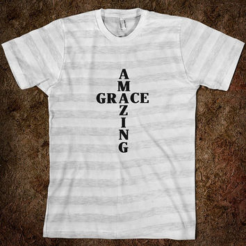 Amazing Grace Cross Religious Christian Catholic Shirt