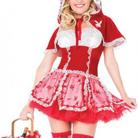 Sexy Red Riding Hood Costume Playboy Costumes