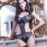Cute On Sale Hot Deal Sexy One-piece Cats Exotic Lingerie [6596188547]