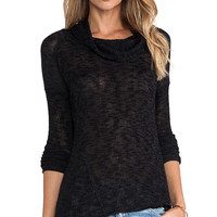 Free People Beatnik Hacci in Black