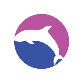 Dolphin Identity Template Logo Design Vector for Your Future Business