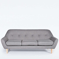 Sofia 3-Seater Sofa in Charcoal - Urban Outfitters
