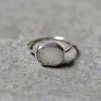 Melissa Joy Manning Womens Labradorite Slice Ring
