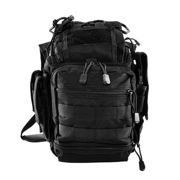 First Responders Utility Bag Has Plenty of Space with 7 Compartments - Black