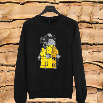 Breaking Bad Lego sweater Sweatshirt Crewneck Men or Women Unisex Size