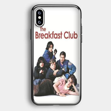 Breakfast Club Vintage Posters iPhone XS Max Case   Casefruits