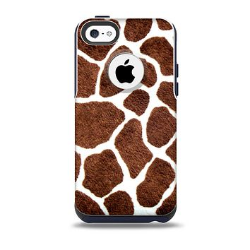 The Real Giraffe Animal Print Skin for the iPhone 5c OtterBox Commuter Case
