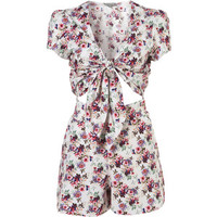 **Ditsy Floral Playsuit by Love