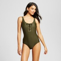 Women's Lace Up One Piece - Mossimo™