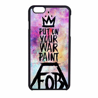 Fall Out Boy Put On Your Paint Fob Bands iPhone 6 Case