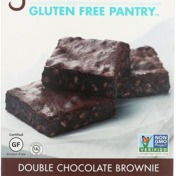 GLUTEN FREE PANTRY: Double Chocolate Brownie Mix, 16 oz
