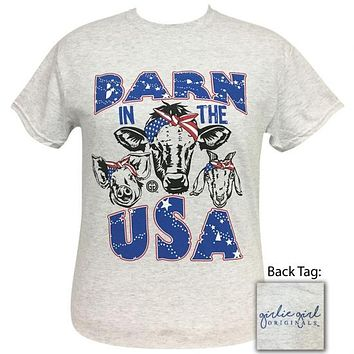 Girlie Girl Originals Barn In The USA T-Shirt