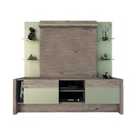Manhattan Comfort Morning Side Freestanding Theater Entertainment Center