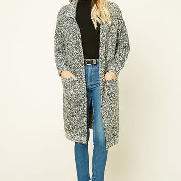 Contemporary Marled Cardigan