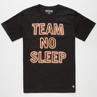 DESTORM Team No Sleep Mens T-Shirt | Graphic Tees