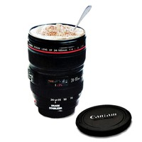 Camera Lens 24-105 Coffee Cup