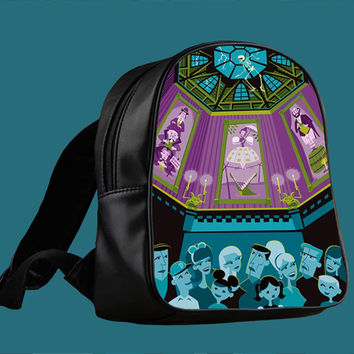 Disney The Haunted Mansion Stretching for Backpack / Custom Bag / School Bag / Children Bag / Custom School Bag *