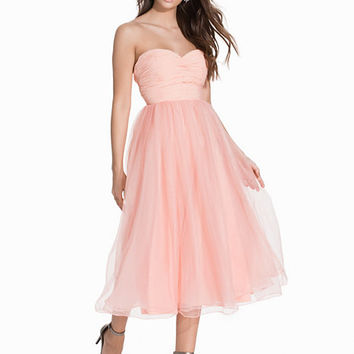 Sweetheart Chiffon Dress, NLY Eve