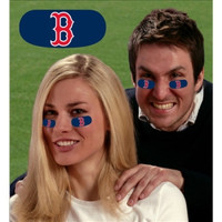 Boston Red Sox MLB Eyeblack Strips (6 Each)
