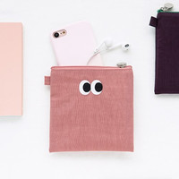 Som Som stitching small zipper pouch ver2