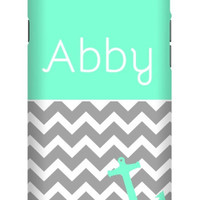 Chevron Anchor Personalized iPhone 6 Extra Protective Bumper Case