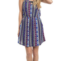 Navajo Nights Printed Knit Dress