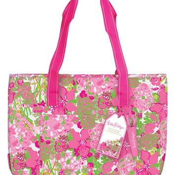 Lilly Pulitzer Insulated Beach Cooler Tote
