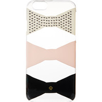 Kate Spade New York Embellished Bow Tile Resin Phone 6 Case
