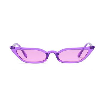 Slim Starstruck Sunglasses | Purple