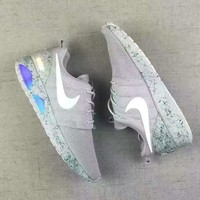NiKE EOSHE RUN AIR MAG RUN Fashion Men Sport Casual Shoes Sneakers Grey