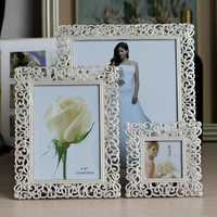 Europe Metal Picture Frame European Alloy Photo Frames Home Decor Item Wedding Gifts Photo Studio Gifts