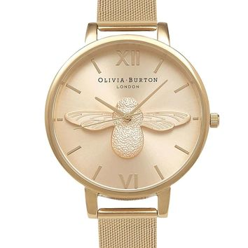 **Moulded Bee Watch by Olivia Burton - Topshop