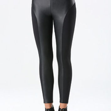 Bebe Corset Black Leggings