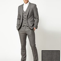 River Island Straight Leg John Suit at asos.com