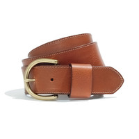 Perfect Leather Belt - belts - Women's ACCESSORIES - Madewell