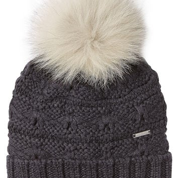 Woolrich - Wool Hat with Pom-Pom