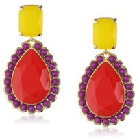 kate spade new york Run Around Multi-Colored Drop Earrings