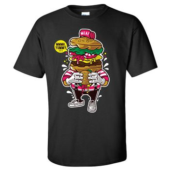 I Lover Burger Mens/Unisex T Shirt