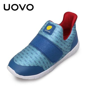 New Spring Kids Casual Shoes For Boys Fashion Breathable Shoes Blue Children Sport Sneakers
