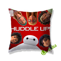 Big Hero 6 Huddle Up! Square Pillow Cover