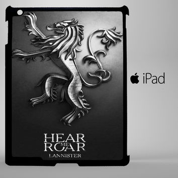 game of thrones lannister iPad 2, iPad 3, iPad 4, iPad Mini and iPad Air Cases - iPad