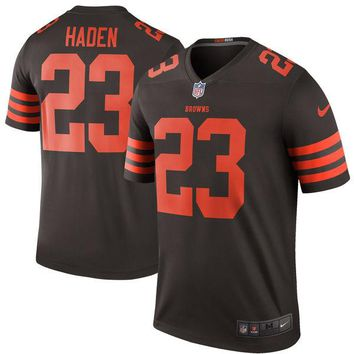 Men's Cleveland Browns Joe Haden Nike Brown Color Rush Legend Jersey