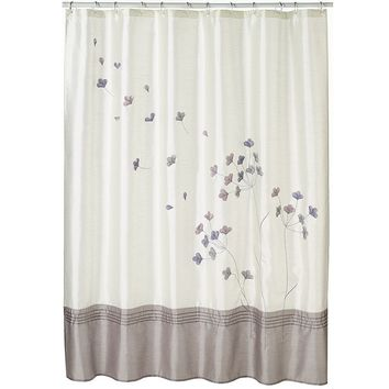 Wind Swept Fabric Shower Curtain