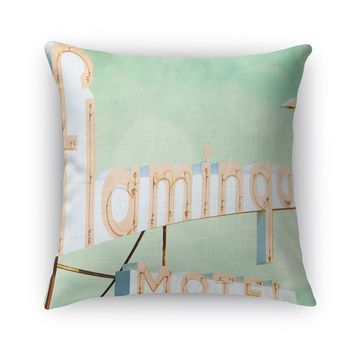 FLAMINGO Accent Pillow By Bomobob