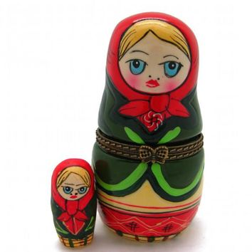 Russian Nesting Doll Jewelry Boxes