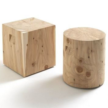 LOW SOLID WOOD COFFEE TABLE LOGOS | RIVA 1920