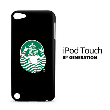 Back of Starbuck Logo iPod Touch 5 Case